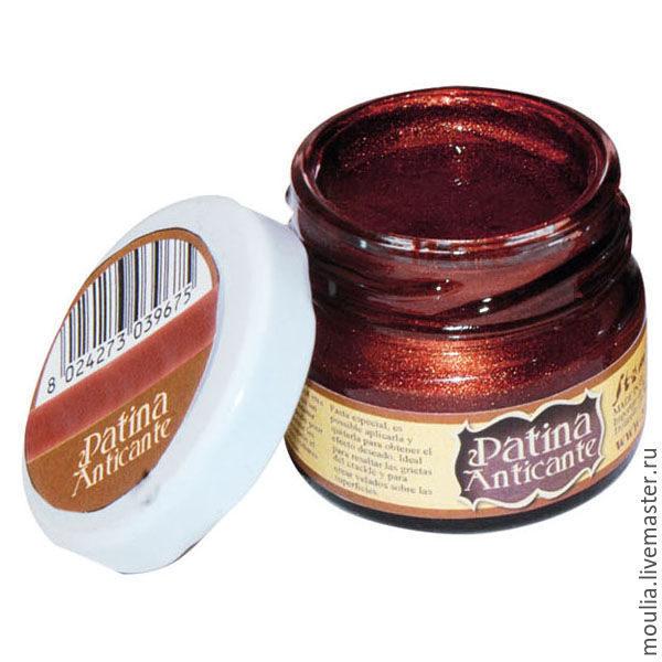 Паста для создания патинирующего эффекта Patina Anticante STAMPERIA цвет медь