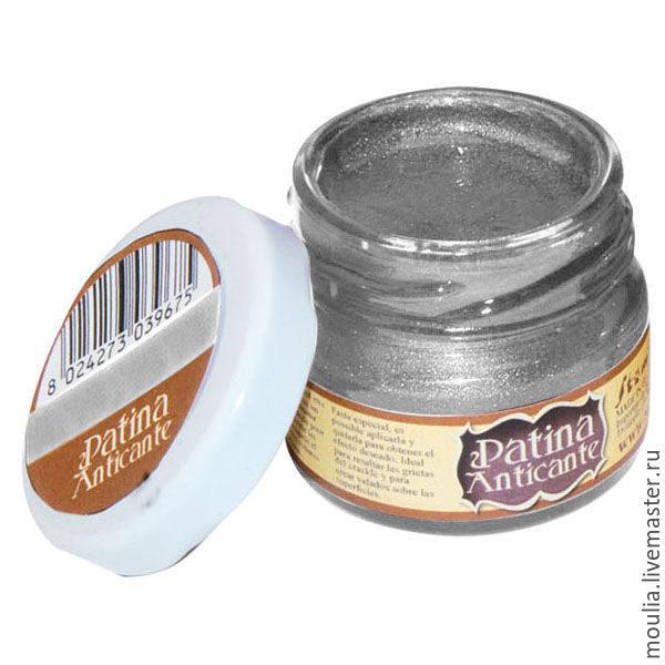Паста для создания патинирующего эффекта Patina Anticante STAMPERIA цвет серебро