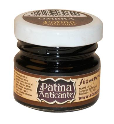 Паста для создания патинирующего эффекта Patina Anticante STAMPERIA цвет коричневый