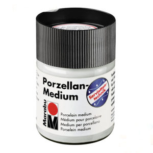 Лак клей для декупажа под обжиг Marabu Porzellan Medium, 50 мл