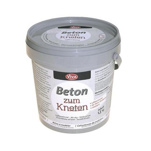 Сухая смесь д/приготовления моделирующего бетона Beton zum Kneten