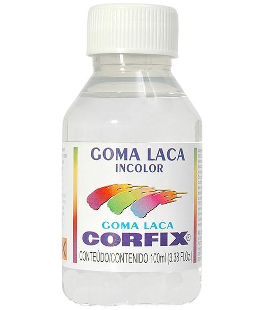 Лак Goma Laca Incolor (шеллак)100 ml,Corfix