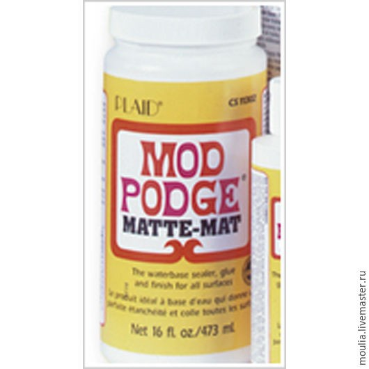 Клей лак Mod Podge для декупажа матовый 946 мл