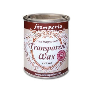 Воск - полироль нейтральный прозрачный Transparent wax