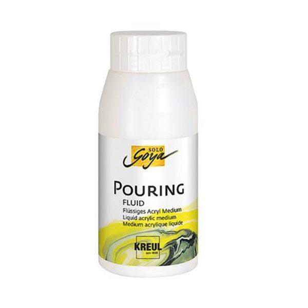 Медиум для жидкого акрила Pouring-Fluid Solo Goya